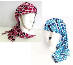 HeadSaver Scarves Pink & Blue
