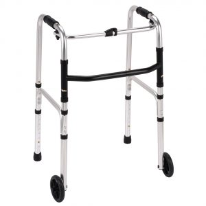 Folding Zimmer with wheels